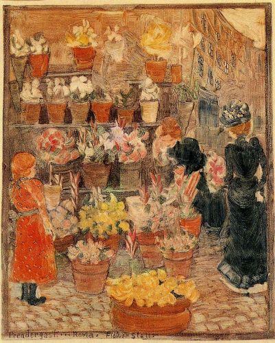 Rome - Flower Stall