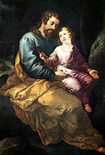 St Joseph and the Child