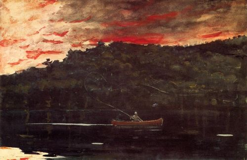 Sunrise, Fishing in the Adirondacks