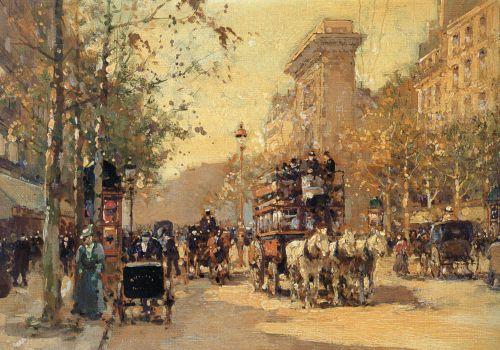 The Porte Saint Martin