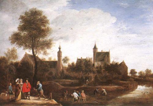 View of Het Sterckshof near Antwerp