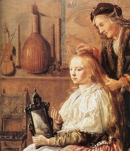 Allegory of Vanity (detail)