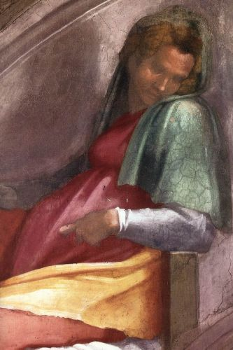 Ancestors of Christ - Rehoboam - Abijah (Detail) 1