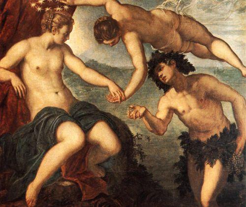 Ariadne, Venus and Bacchus