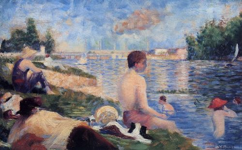 Bathing at Asnieres (Final Study)