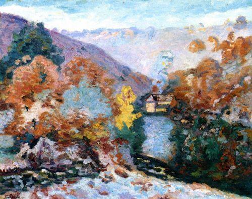 Crozant Landscape, La Folie