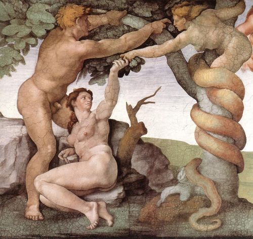 Genesis - 6 Fall and Expulsion from Eden (Detail) 1