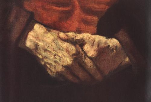 Portrait of an Old Man in Red (detail) 2