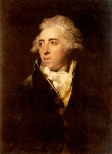 Portrait Of Lord John Townshend