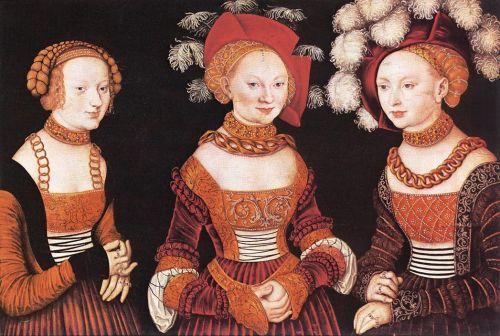 Saxon Princesses Sibylla, Emilia and Sidonia
