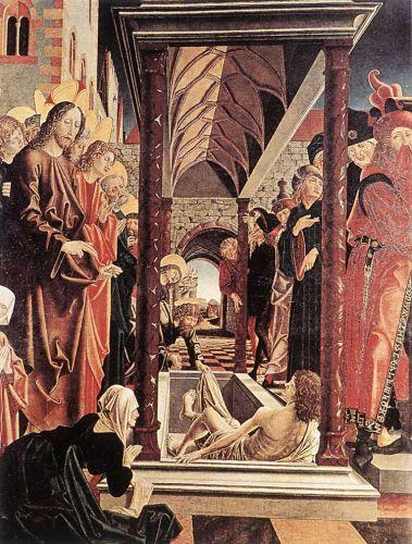 St Wolfgang Altarpiece - Resurrection of Lazar