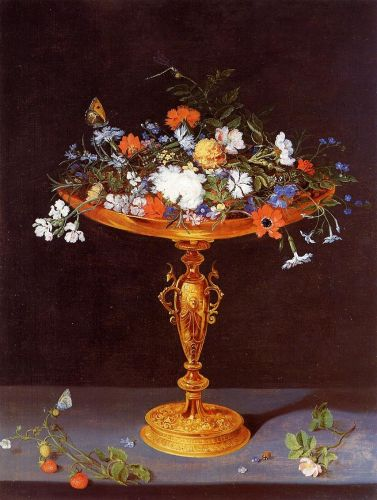 Tazza with Flowers