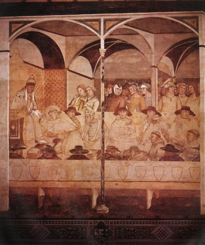 The Oath of St Louis of Toulouse