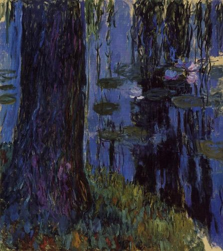 Weeping Willow and Water-Lily Pond 1