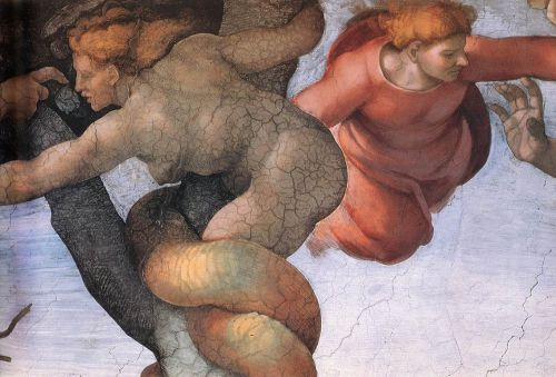 Genesis - 6 Fall and Expulsion from Eden (Detail) 3