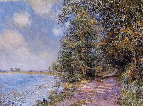 August Afternoon near Veneux