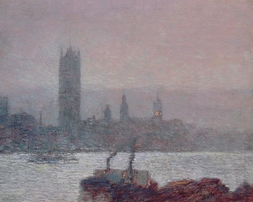 Houses of Parliament, Early Evening