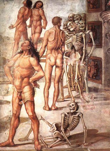 Resurrection of the Flesh (detail) 4