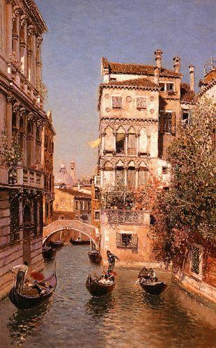 Along The Canal, Venice