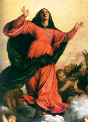 Assumption of the Virgin (detail) 2