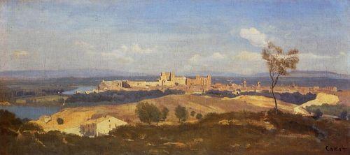 Avignon Seen from Villenueve-les-Avignon