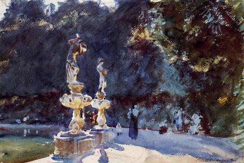 Florence - Fountain, Boboli Gardens