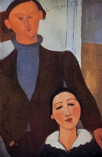 Jacques Lipchitz and His Wife