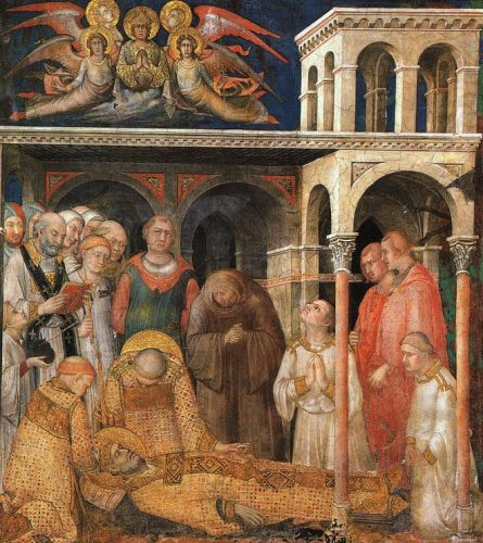 Life of St Martin - The Death of St. Martin