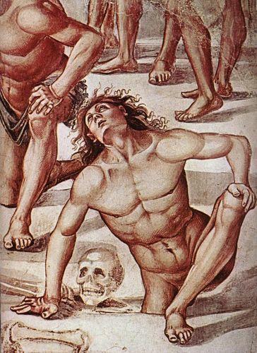 Resurrection of the Flesh (detail) 3