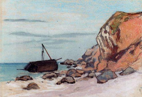 Sainte-Adresse, Beached Sailboat