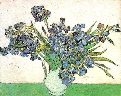 Still Life - Vase with Irises