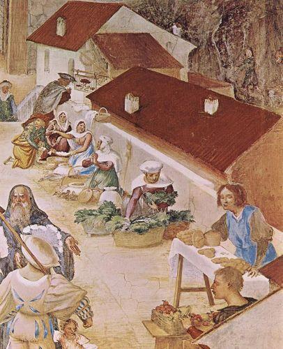 Stories of St Barbara (detail)
