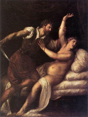 Tarquin and Lucretia