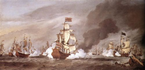 The Battle at Texel
