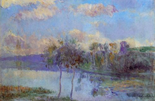 The Pond at Chalou-Moulineux, near Etampes
