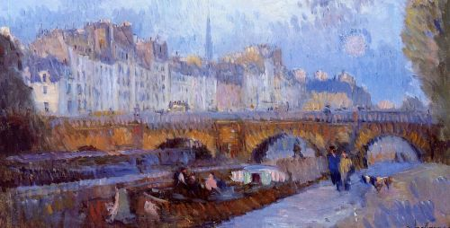 The Pont Neuf and the Monnaie Lock