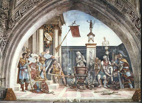 Torture of St John the Evangelist