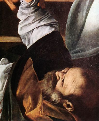 The Martyrdom of St Matthew (detail) 3