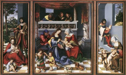 Altarpiece of the Holy Family