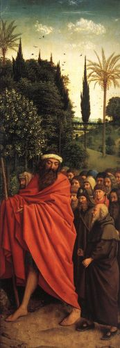 The Ghent Altarpiece - The Holy Pilgrims