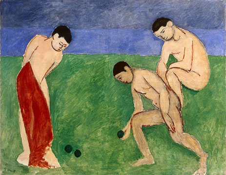 A Game of Bowls, 1908