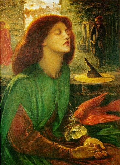Beata Beatrix (Blessed Beatrice), c.1864/70