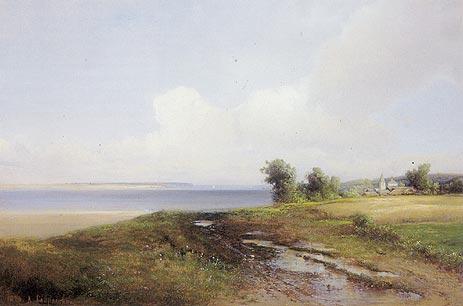 Landscape. Volga, 1874