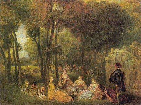 Les Champs Elisees, c.1717/18