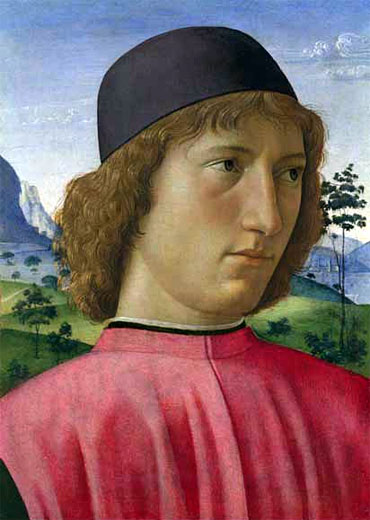Portrait of a Young Man in Red, c.1480/90