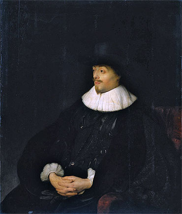 Portrait of Constantijn Huygens, c.1626/27