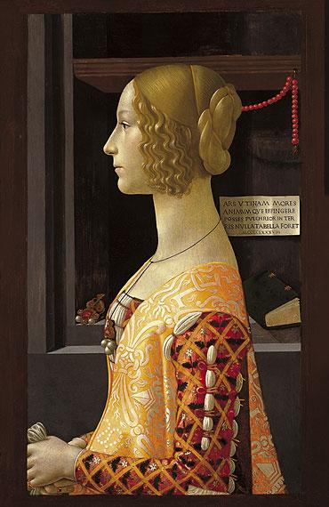 Portrait of Giovanna Tornabuoni, 1488