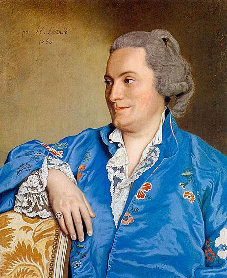 Portrait of Isaac-Louis de Thellusson, 1760