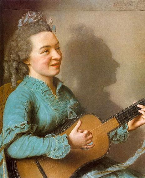 Portrait of Marie-Justine-Benoite Favart-Duronceray, 1757