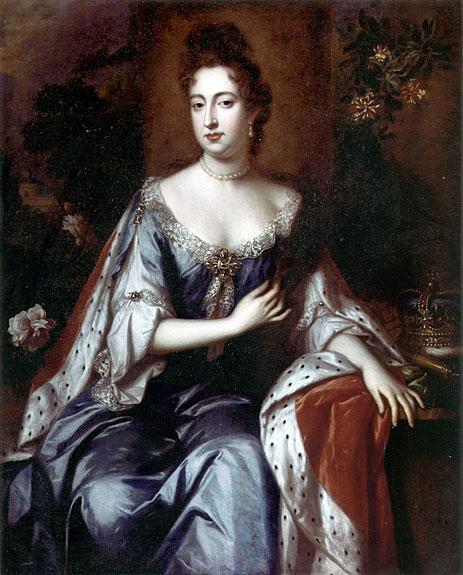 Queen Mary II, c.1690